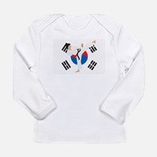 Taekwondo Long Sleeve Infant T-Shirt