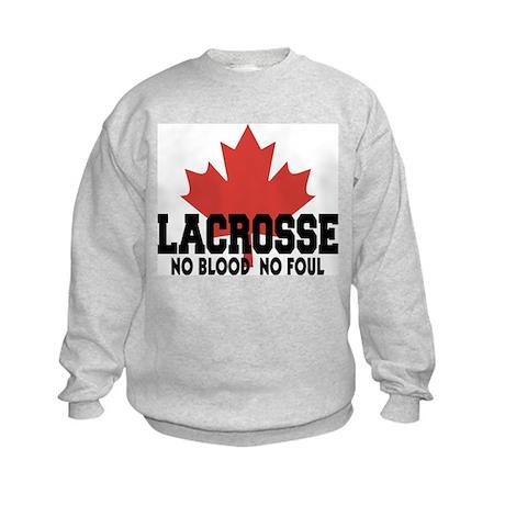 Canadian Lacrosse Kids Sweatshirt