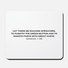 Operators / Genesis Mousepad