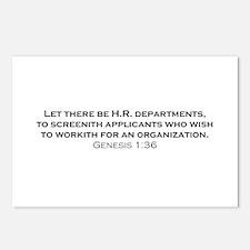 HR / Genesis Postcards (Package of 8)