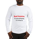 Bomb technician Long Sleeve T-shirts