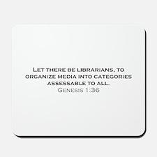 Librarians / Genesis Mousepad