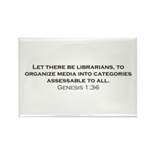 Librarians / Genesis Rectangle Magnet (10 pack)