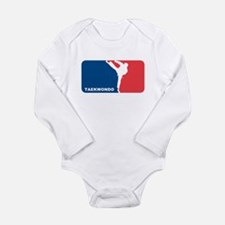 Taekwondo Long Sleeve Infant Bodysuit