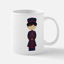 Cute Royal Beefeater Guard Coffee Mug
