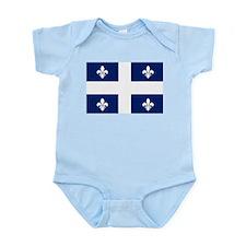 Quebec Flag Infant Creeper