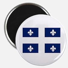 """Quebec Flag 2.25"""" Magnet (10 pack)"""