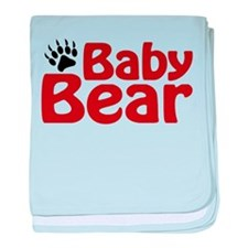 Baby Bear Claw baby blanket