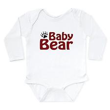 Baby Bear Claw Long Sleeve Infant Bodysuit
