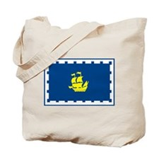 Quebec City Flag Tote Bag
