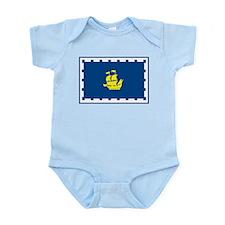 Quebec City Flag Infant Creeper