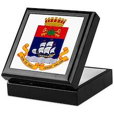 Quebec City Coat of Arms Keepsake Box