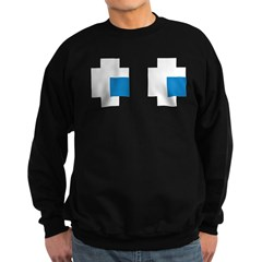 Ghost Eyes Sweatshirt (dark)