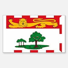 Prince Edward Island Flag Rectangle Decal