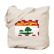 Prince Edward Island Flag Tote Bag