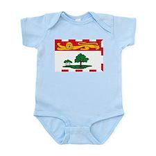 Prince Edward Island Flag Infant Creeper