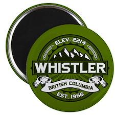 Whistler Olive Magnet