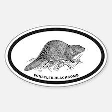 Whistler B.C. Sticker (Oval)