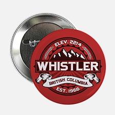 "Whistler Red 2.25"" Button"