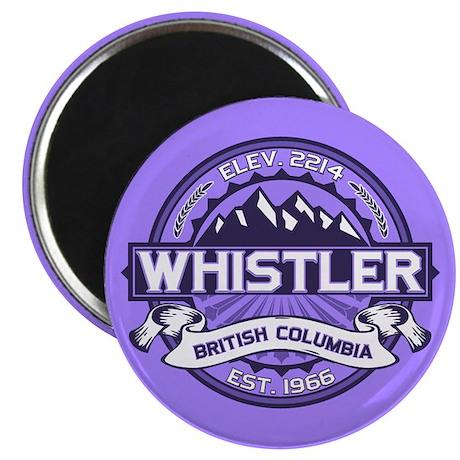 Whistler Violet Magnet