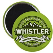 Whistler Green Magnet