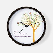 Tree: Wall Clock