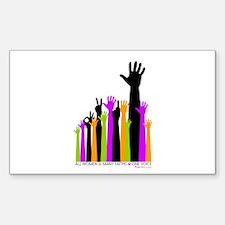 Hands: Sticker (Rectangle)