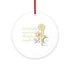 Multi-Faith: Ornament (Round)