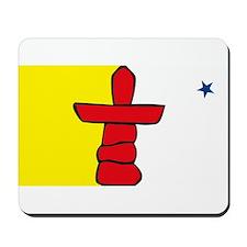 Nunavut Flag Mousepad