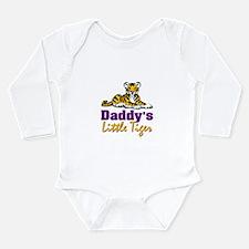 Daddy's Little Tiger Long Sleeve Infant Bodysuit