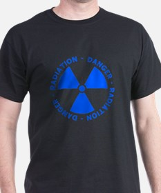 Blue Radiation Symbol T-Shirt