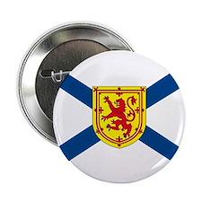 """Nova Scotia Flag 2.25"""" Button (10 pack)"""