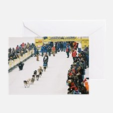 Sled Dog Greeting Cards (Pk of 10)