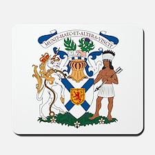 Nova Scotia Coat of Arms Mousepad