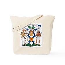 Nova Scotia Coat of Arms Tote Bag