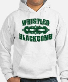 Whistler Blackcomb Old Green Hoodie
