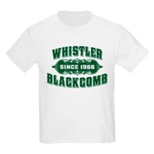 Whistler Blackcomb Old Green T-Shirt