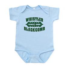 Whistler Blackcomb Old Green Infant Bodysuit