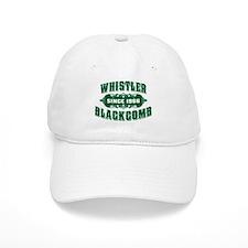 Whistler Blackcomb Old Green Baseball Cap