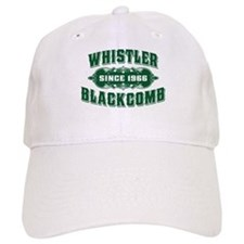 Whistler Blackcomb Old Green Hat