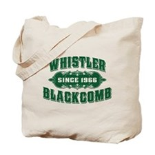Whistler Blackcomb Old Green Tote Bag