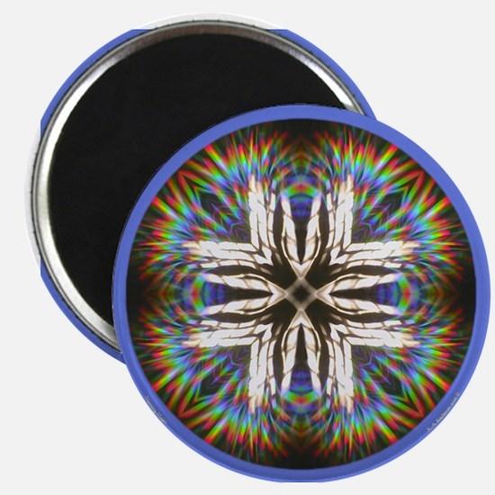 "Morning Magic Mandala 2.25"" Magnet"
