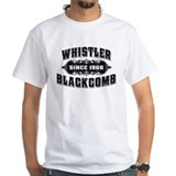 Whistler Mens White T-shirts