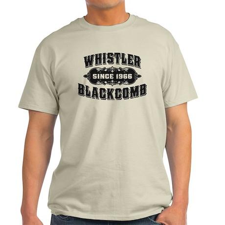 Whistler Blackcomb Old Black Light T-Shirt