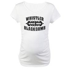 Whistler Blackcomb Old Black Shirt