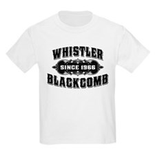 Whistler Blackcomb Old Black T-Shirt