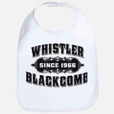 Whistler Blackcomb Old Black Bib