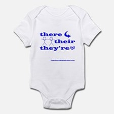 There Their They're Infant Bodysuit