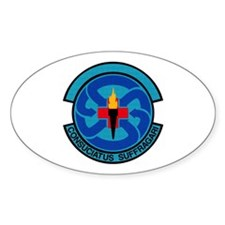48th Medical Support Oval Decal