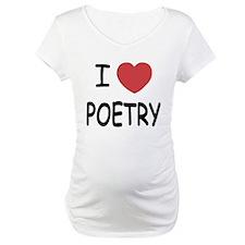 I heart poetry Shirt